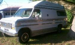 1991 Ford Rv Camper Van