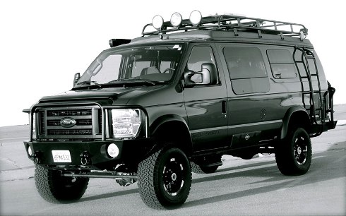 Sportsmobile Ford 4X4 Camper Van
